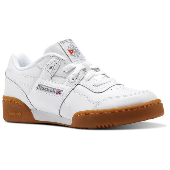 Reebok - Workout Plus White/Carbon/Classic Red/Reebok Royal-Gum CN2243