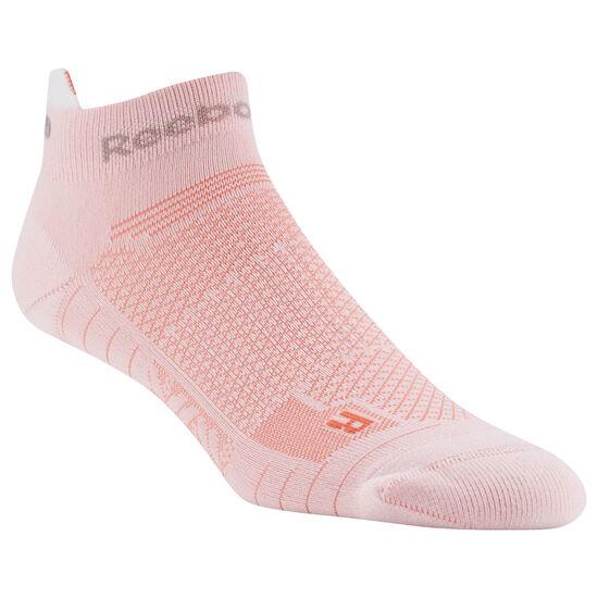 Reebok - Reebok ONE Series Running Unisex Ankle Sock White / Atomic Red D68175
