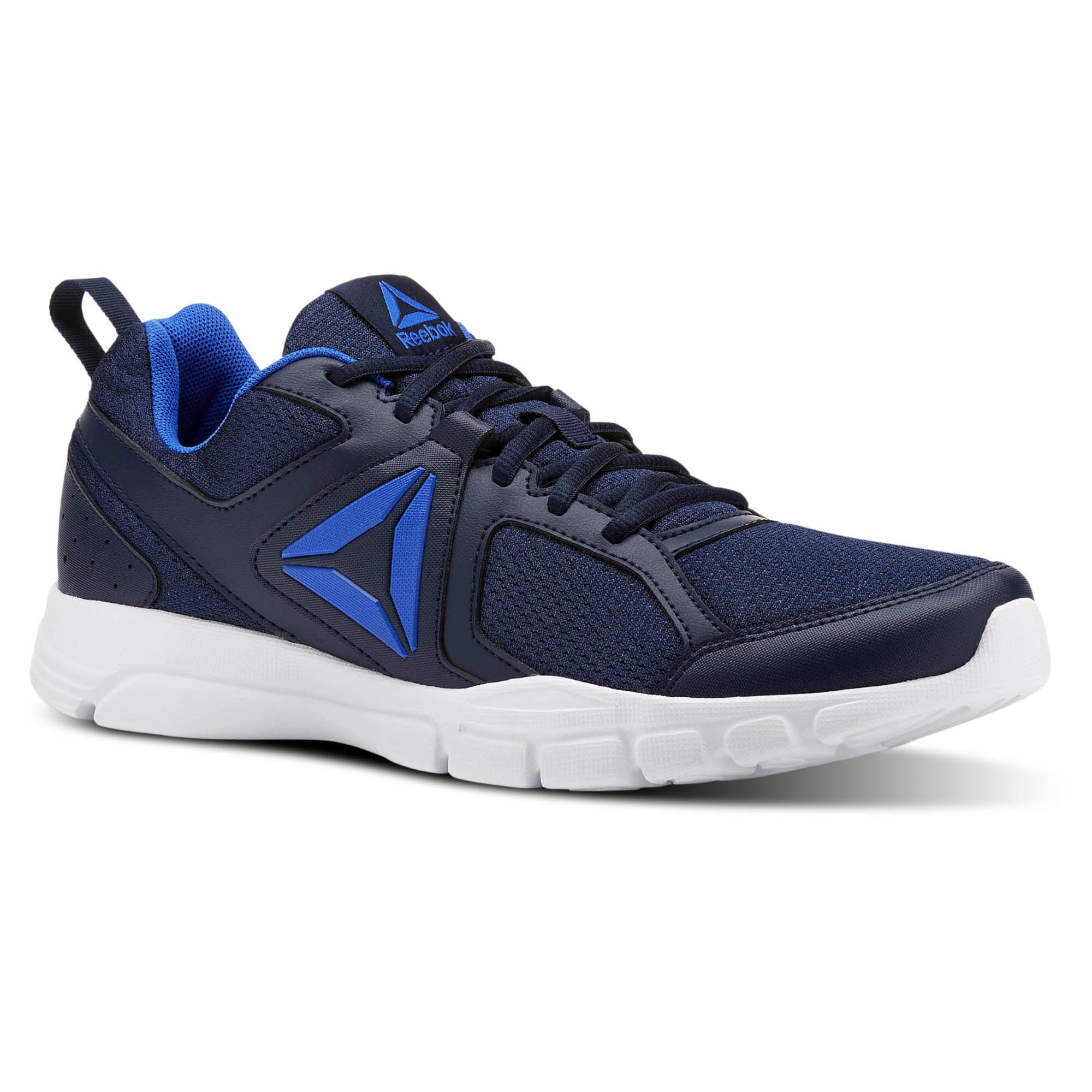 Reebok 3D FUSION TR - Stabilty running shoes - blue XMrTDBQ1s6
