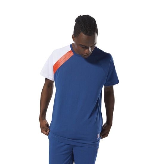 Reebok - Classics Advanced Tee Bunker Blue / White DJ1908