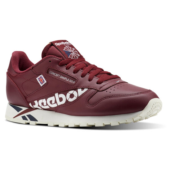 Reebok - Classic Leather MU Ativ-Urban Maroon/White/Collegiate Navy/Chalk DV5018