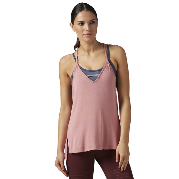 Studio Favourites Strappy Tank Pink BR0415