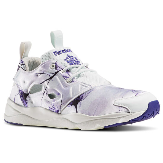 Reebok - Furylite Graphic Pack White/Floral-Opal/Pigment Purple/Lucid Lilac AQ9835