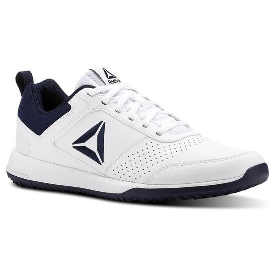 Reebok - Reebok CXT - Synthetic Leather Pack White/Collegiate Navy/Silver CN4678