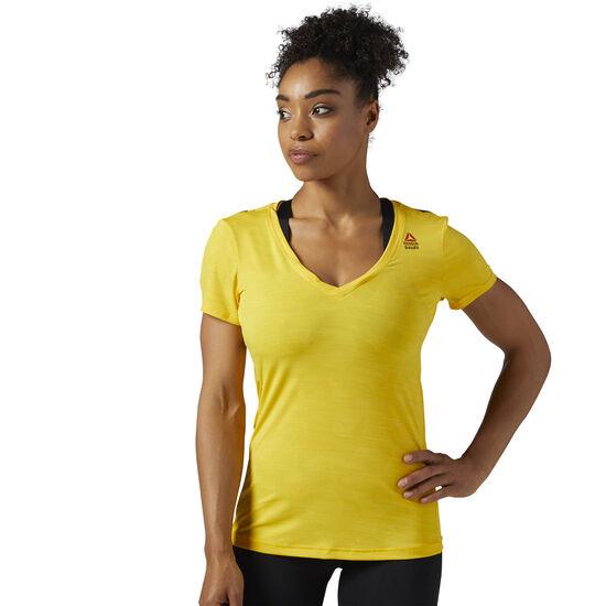 Reebok - Reebok CrossFit ACTIVCHILL Tee Primal Yellow BQ7393