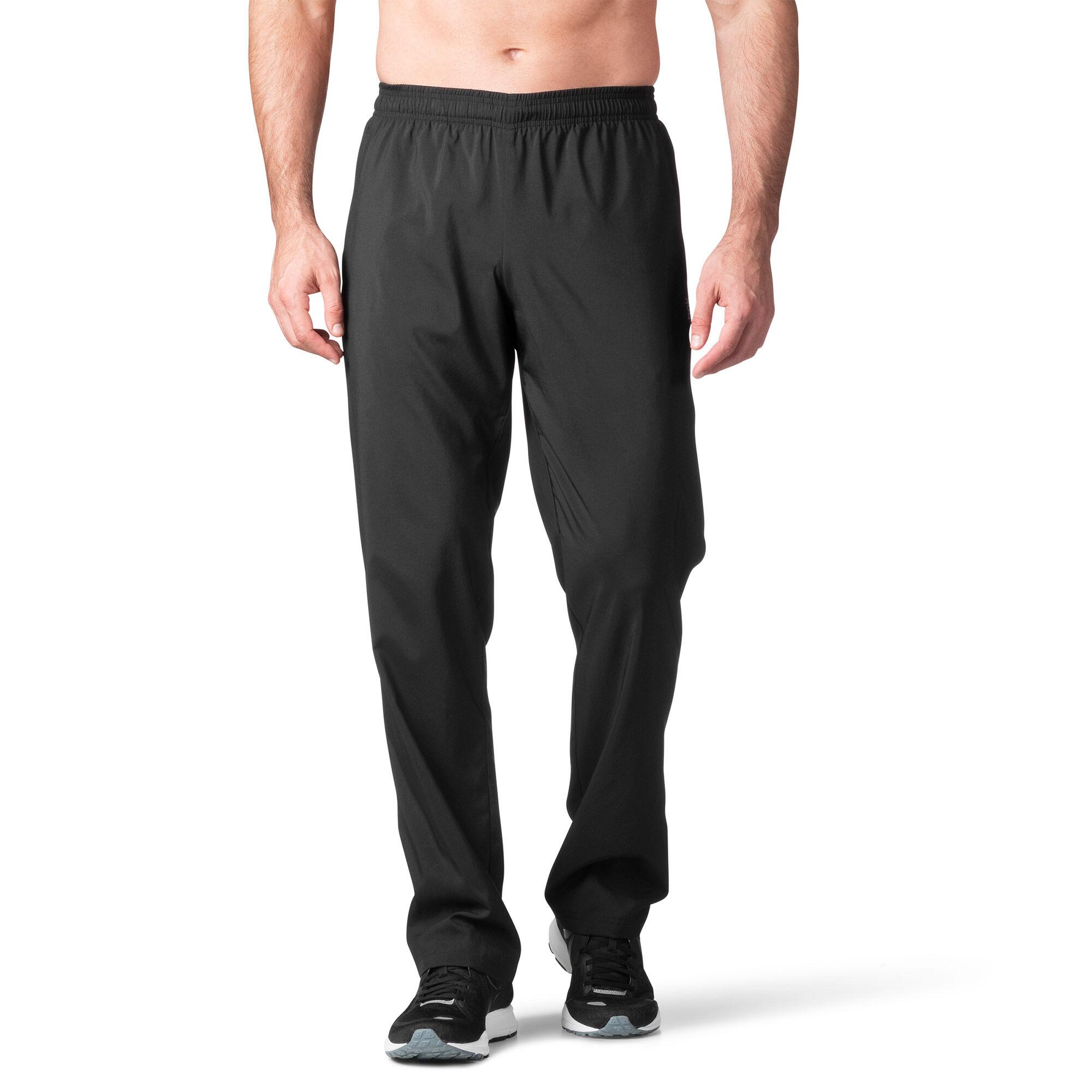 Reebok - Woven Unlined Open Hem Pant Black/Black AJ3061