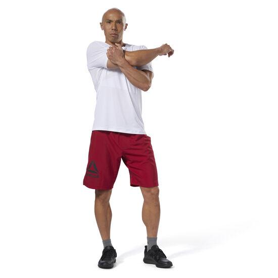Reebok - Epic Lightweight Shorts Cranberry Red D93772