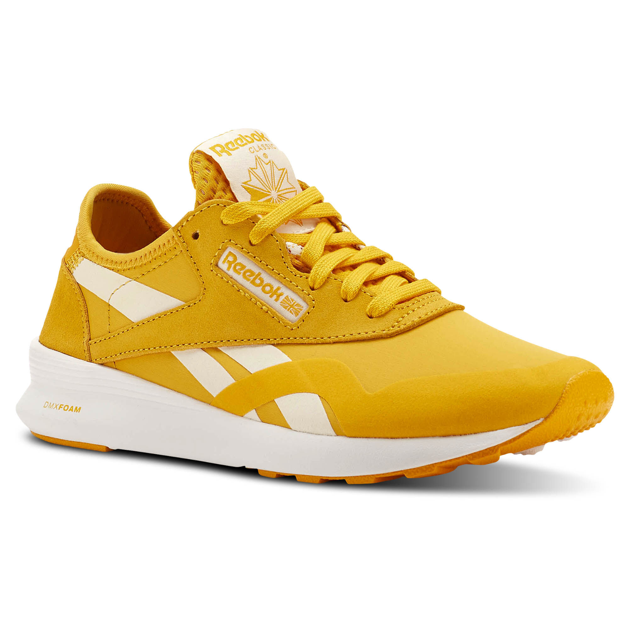 Reebok ClassicTrainers - fierce gold/chalk/white rmFF6
