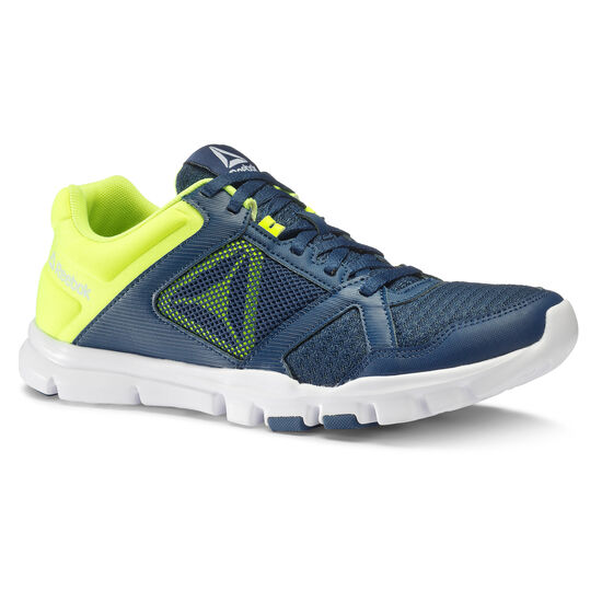 Reebok - Yourflex Train 10 MT Washed Blue/Solar Yellow/White CN2764