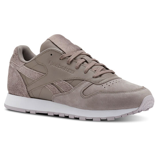 Reebok - Classic Leather Prm-Sandy Taupe/Lavender Luck/ White CN2961