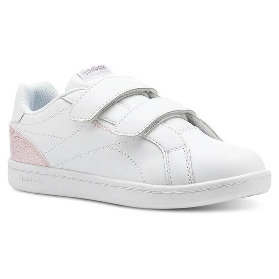 Reebok - Reebok ROYAL COMP CLN 2V Pastel-White/Practical Pink/Silver CN5063