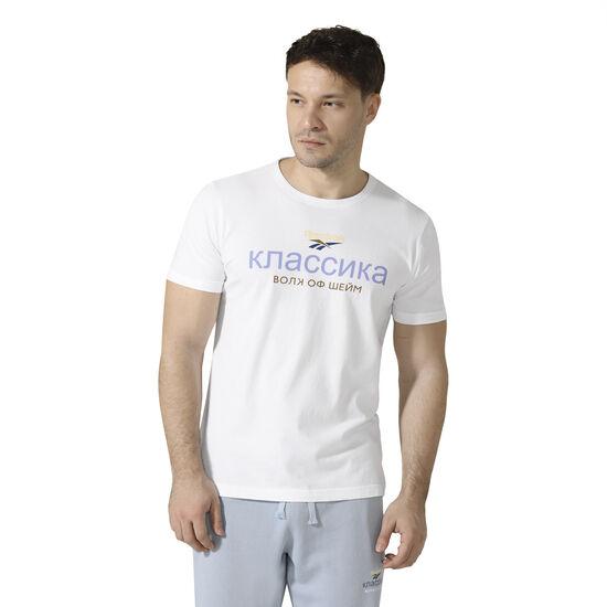 Reebok - Reebok Classics x Walk of Shame Crewneck T-Shirt White D98835