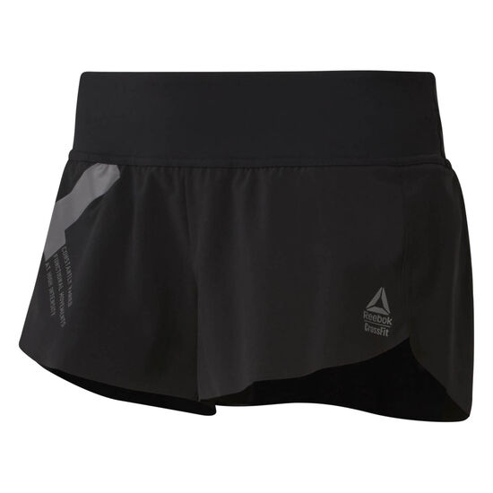 Reebok - Reebok CrossFit Knitted Waistband Shorts - Graphic Black D94946