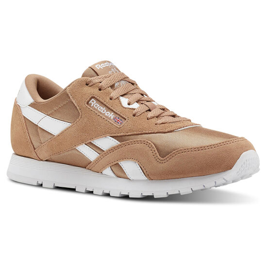 Reebok - Classic Nylon - Primary School Bare Brown/White CN5023
