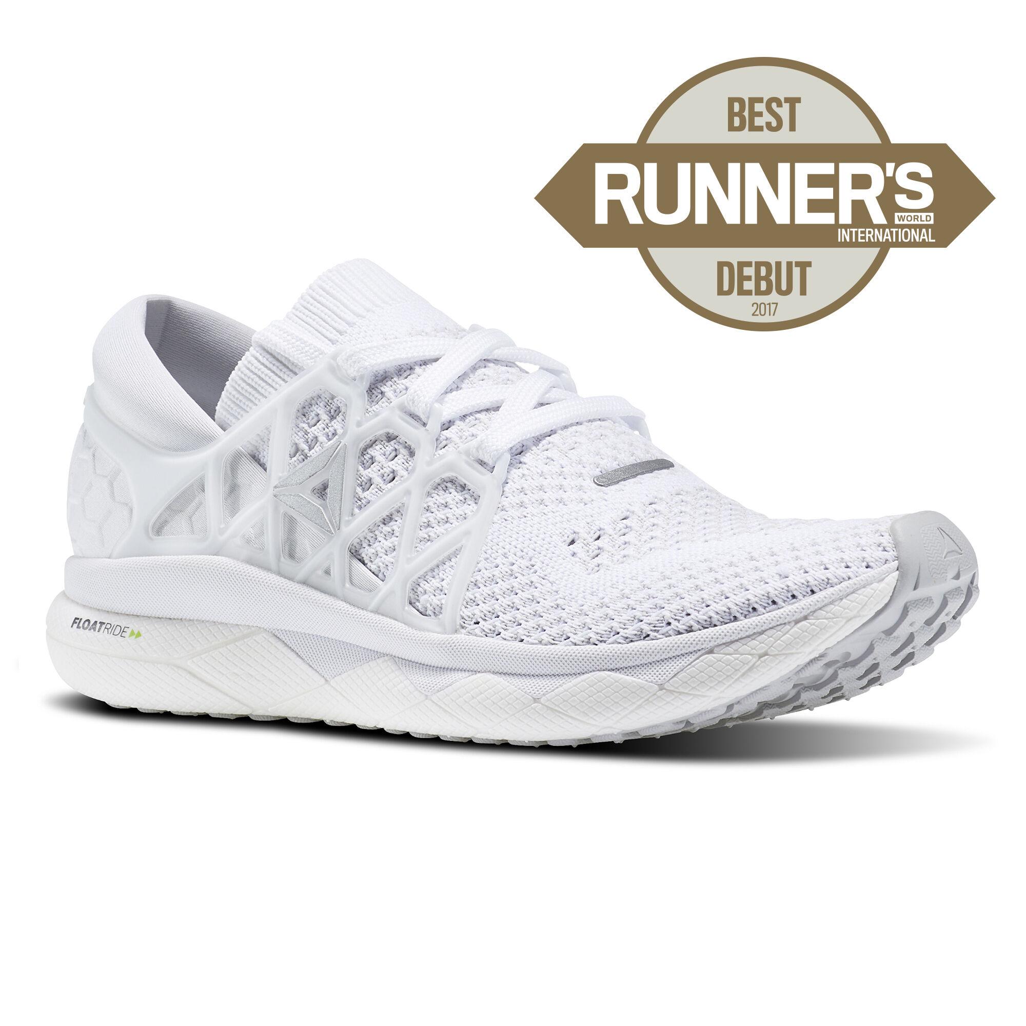 Reebok - Reebok Floatride Run Ultraknit White/Steel/Coal BS9867. Read all  364 reviews. Women Running