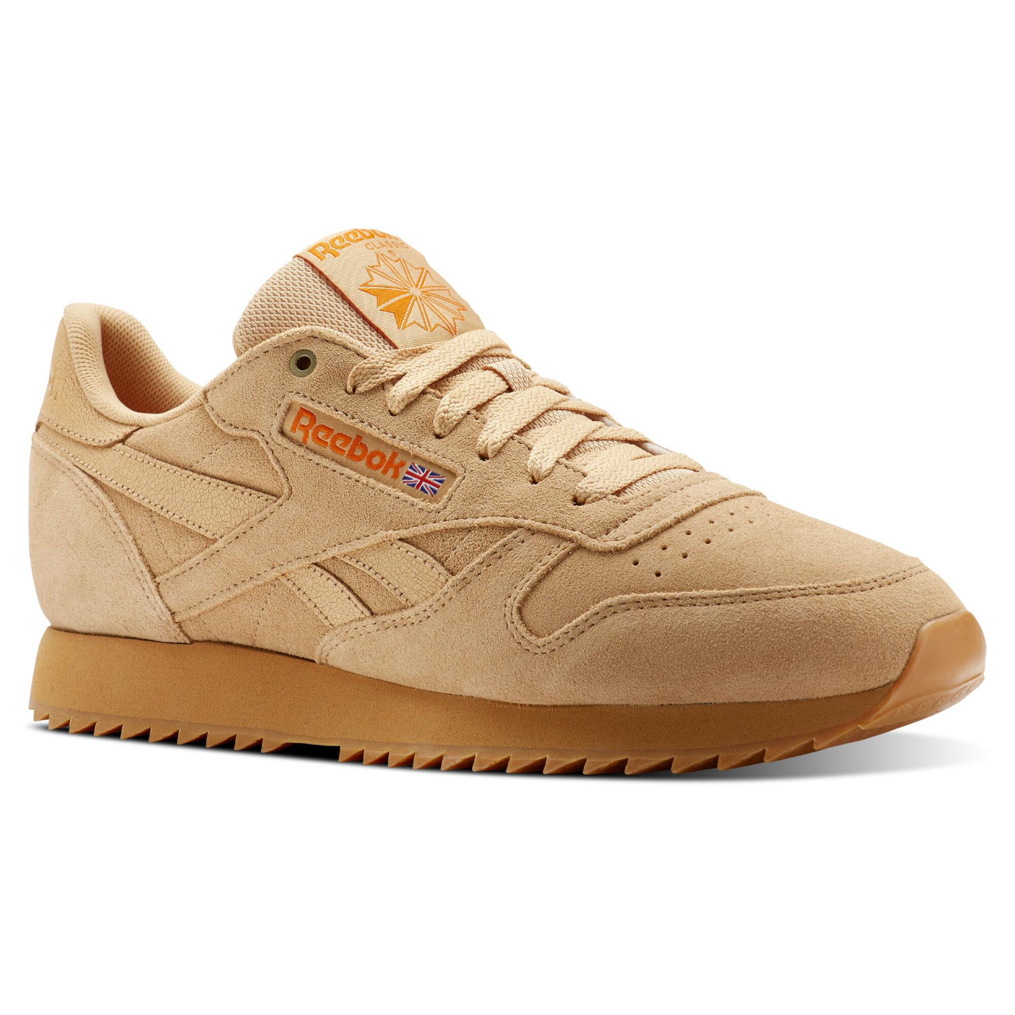 Men Brown Classics Trainers Shoes | Reebok GR