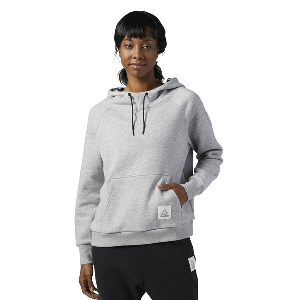 Workout Ready Pullover Hoodie Grey BP8237