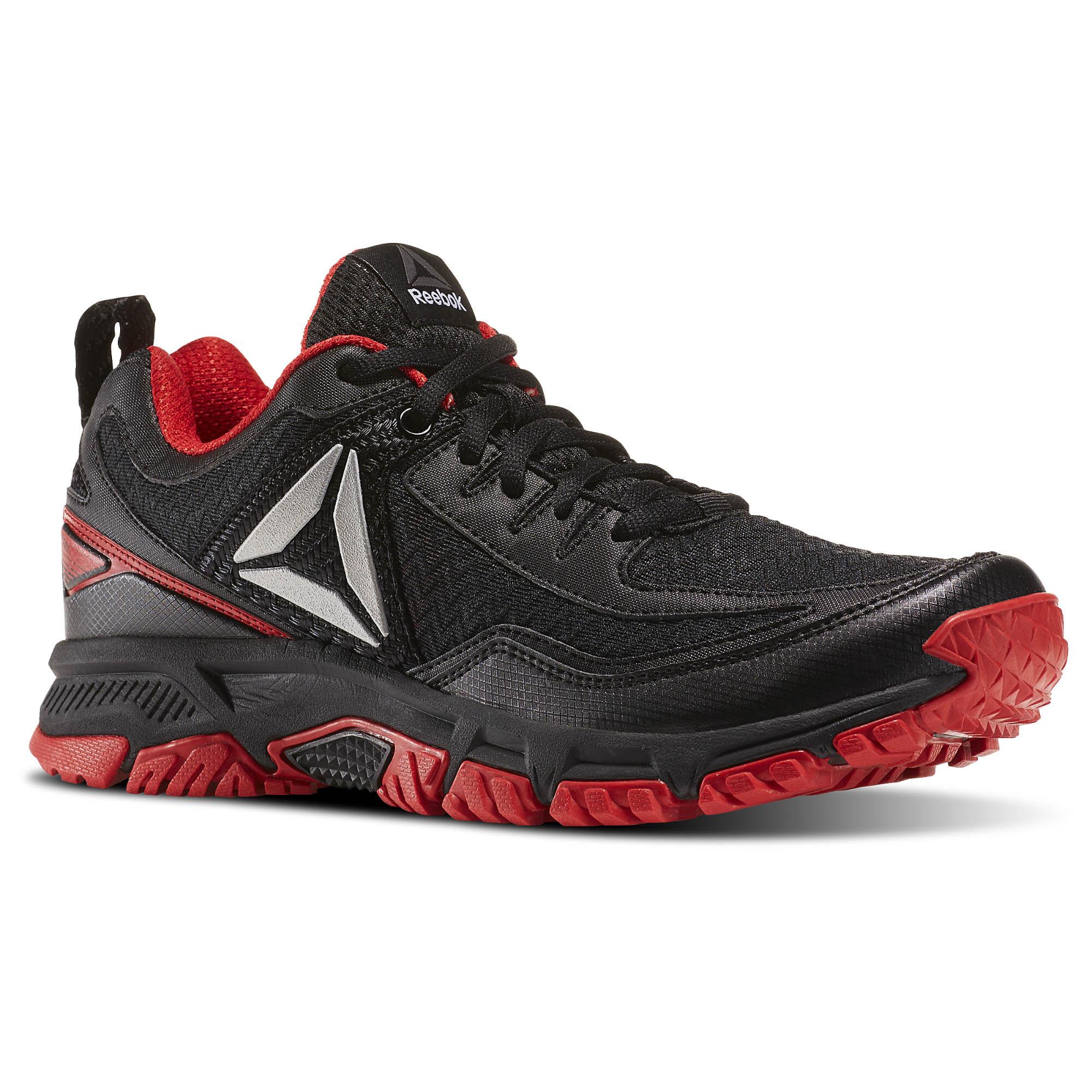 Reebok - Ridgerider Trail 2.0 Black/Primal Red/Silver BD2246