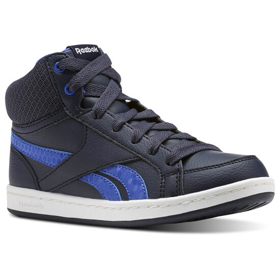 Reebok - Reebok Royal Prime Mid Navy/Acid Blue/White CN0635