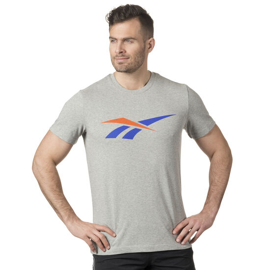 Reebok - LF 90S Print T-Shirt Medium Grey Heather DN9809