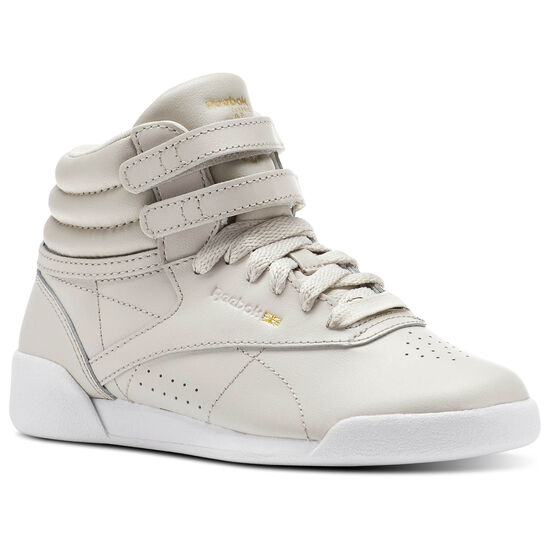 Reebok - Freestyle HI Muted Sandstone/White CN1609