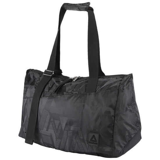 Reebok - Lead & Go Graphic Grip Duffle Bag Black BR9470