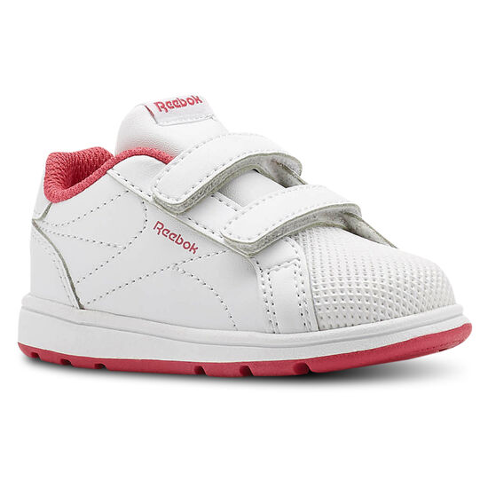Reebok - Reebok Royal Complete Clean - Infant & Toddler White/Twisted Pink CN4824