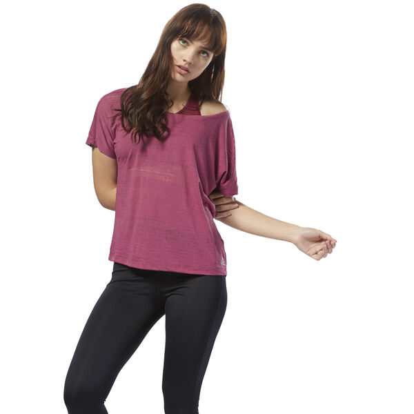 Burnout Tee Pink CY2354