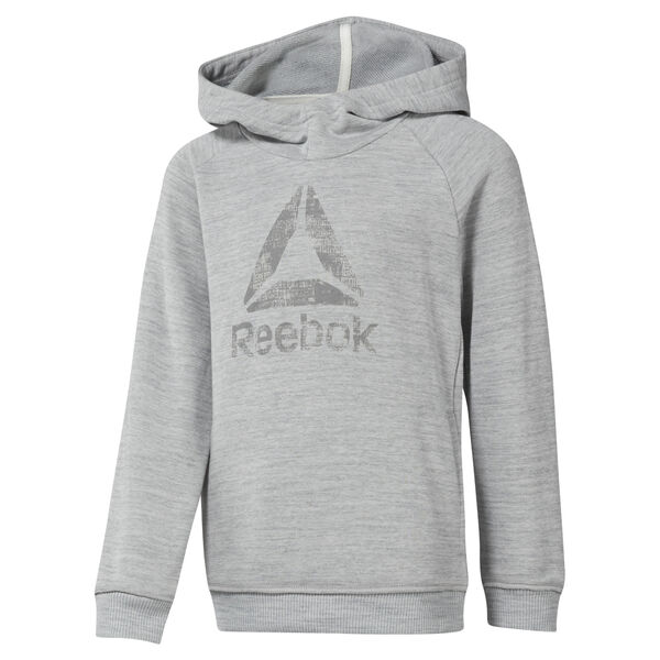 Boys Training Essentials Marbel Over The Head Hoody Grey DJ3075