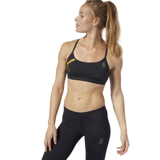 Reebok - Reebok CrossFit Skinny Bra - Graphic Black D94935