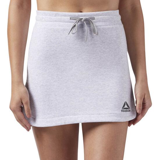 Reebok - S French Terry Skirt Medium Grey Heather DW8498