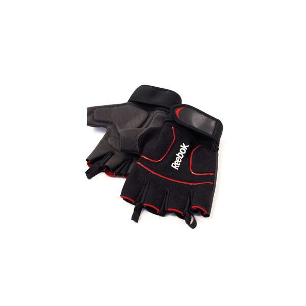 Lifting Glove - Red M Black B79397