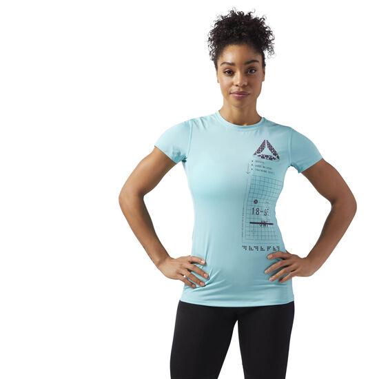 Reebok - ACTIVCHILL Graphic T-Shirt Turquoise CF5948