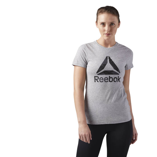 Reebok - Workout Ready Graphic Tee Medium Grey Heather CE4488