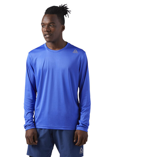 Reebok - Running Long Sleeve Shirt Acid Blue CD5686