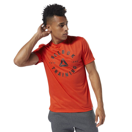 Reebok - GS Training Speedwick Tee Carotene DH3742