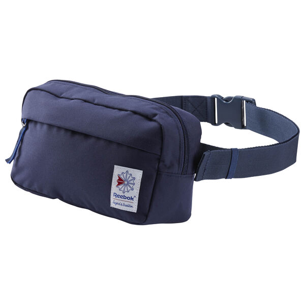 Classic Throwback Zippered Waistbag Blue CD6552