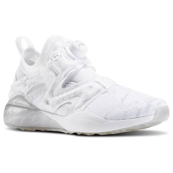 Reebok - The Pump Izarre White/Steel/Tin Grey/Ash Grey AR3122