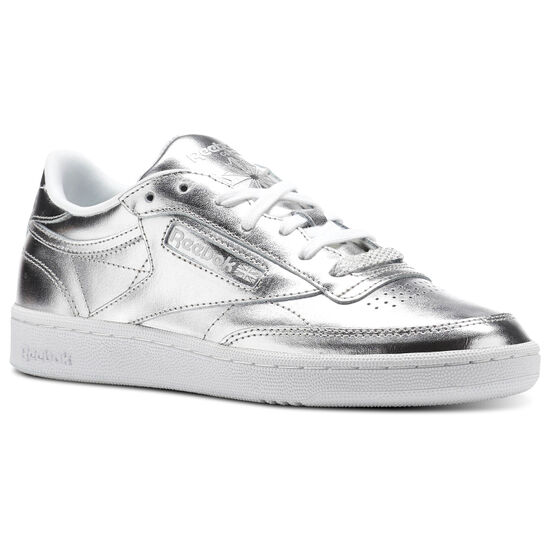 Reebok - Club C 85 S Shine Silver/White CM8686