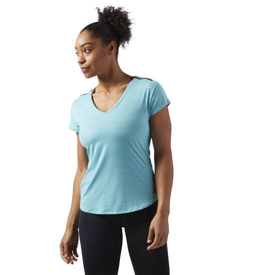 Reebok - ACTIVCHILL T-Shirt Turquoise CF5940