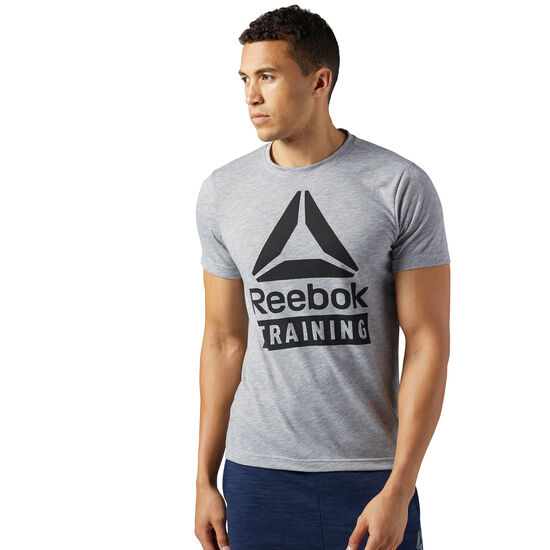 Reebok - Training Speedwick Tee Medium Grey Heather BR5567