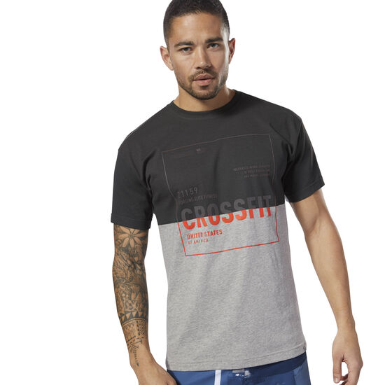 Reebok - CrossFit Tee Medium Grey Heather DH3692