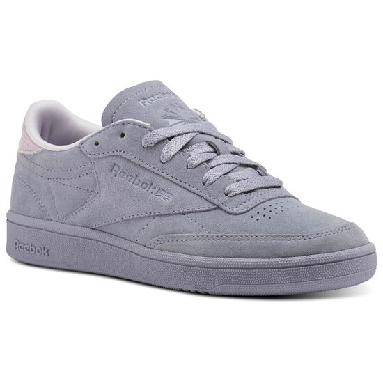 Reebok - Reebok Club C 85 Nubuck Purple Fog/Quartz CM9055