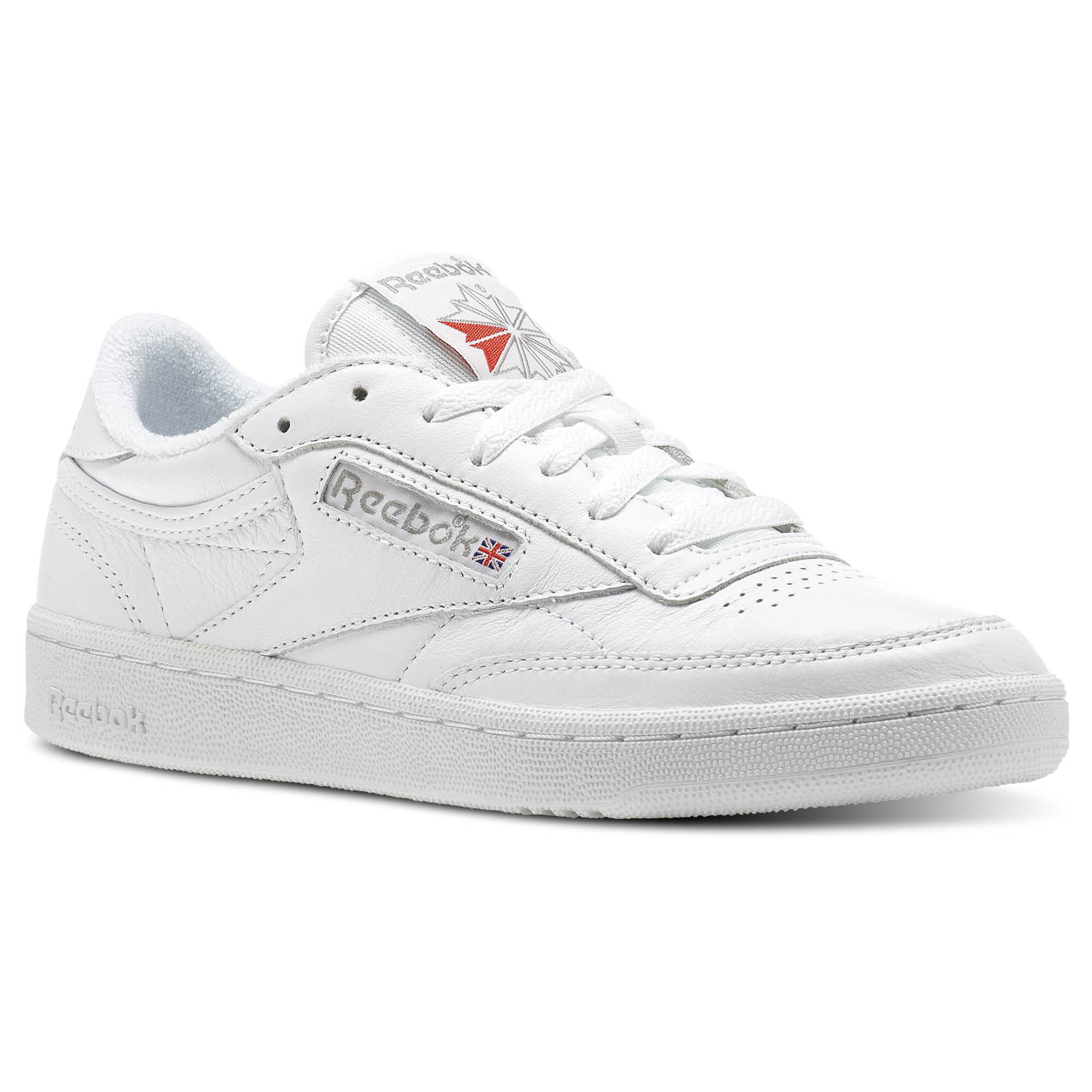 Reebok - Club C 85 Archive White/Carbon/Excellent Red CN0907