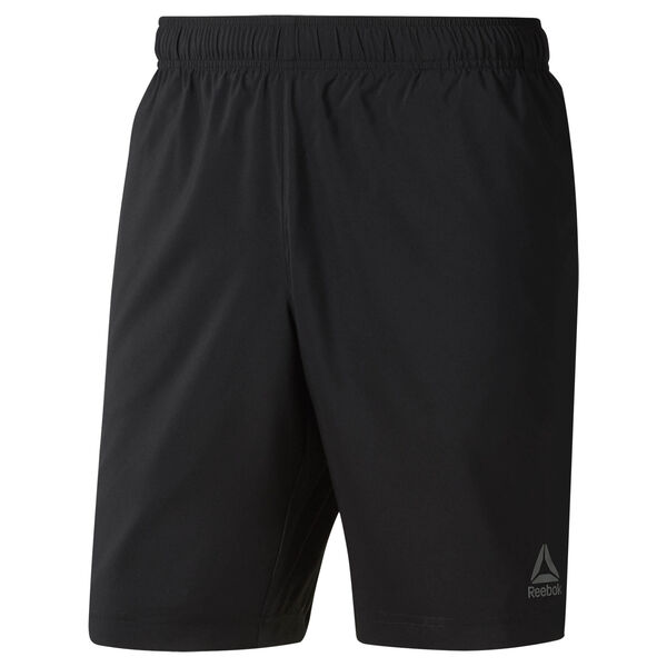Elements Woven Shorts Black CY4927