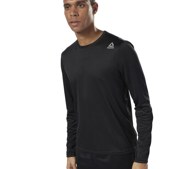 Reebok - Running Long Sleeve Tee Black D92331