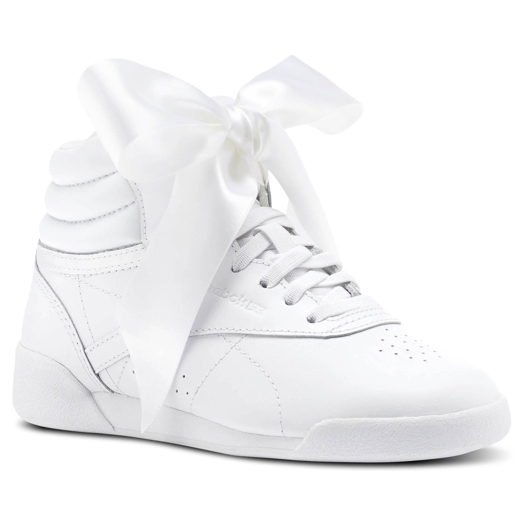Boots homme - Noir-V.6 Espadrilles Femme Reebok Freestyle Hi Satin Bow White 6a26ca9c2682