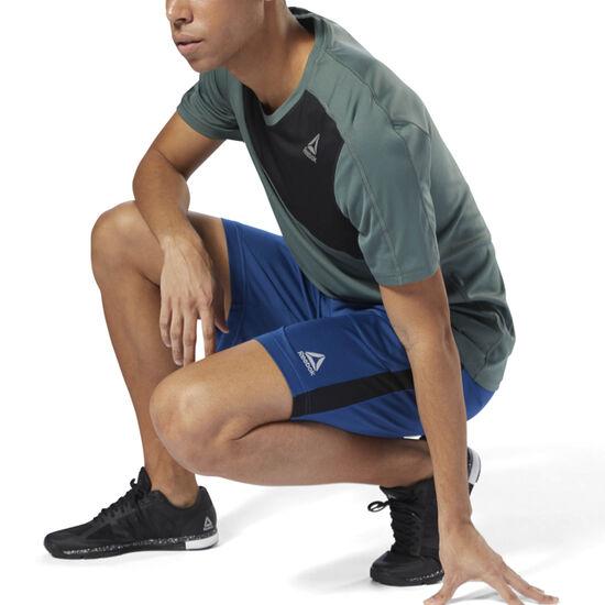 Reebok - Mesh Workout Shorts Bunker Blue D94333