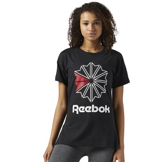 Reebok - Reebok Classics Graphic Tee Black BS3747