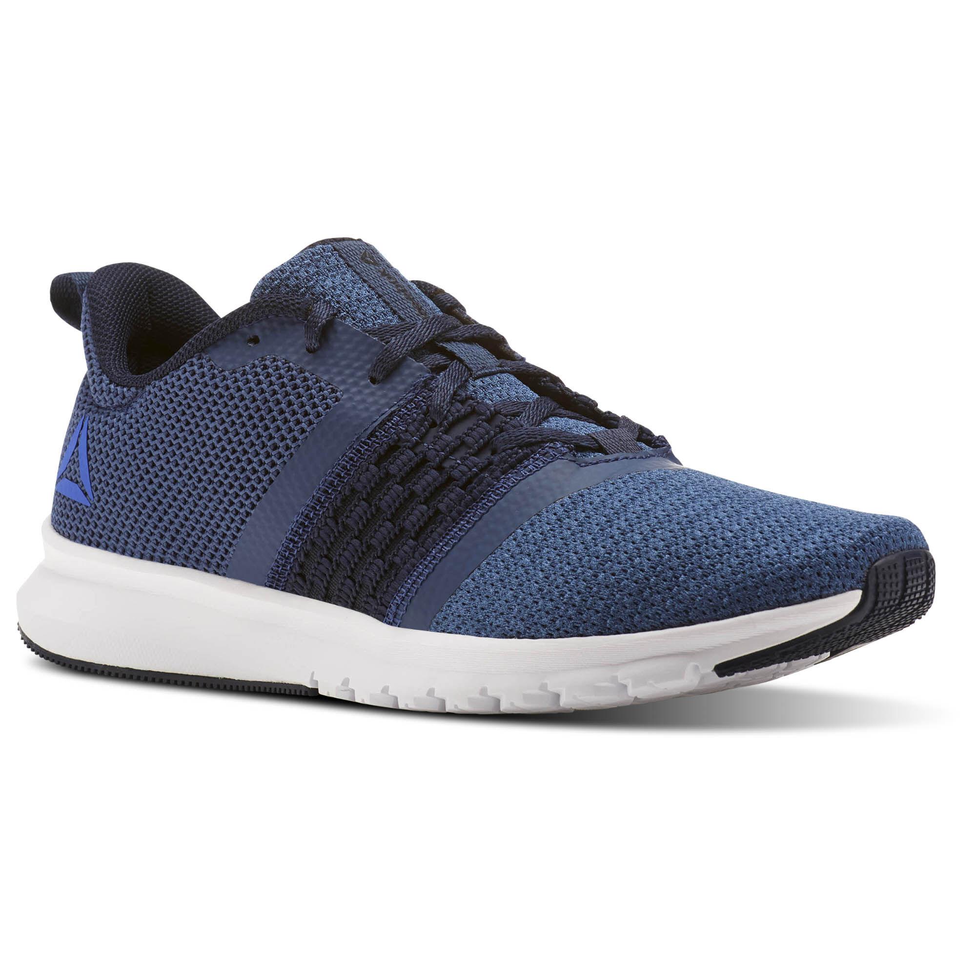 Reebok LITE RUSH - Stabilty running shoes - blue FeskDcljA